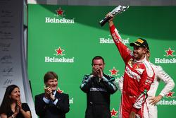 Подіум: третє місце - Себастьян Феттель, Ferrari
