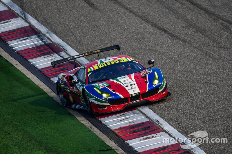 2. LMGTE-Pro: #51 AF Corse, Ferrari 488 GTE: Gianmaria Bruni, James Calado