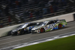 Joey Gase, Go Green Racing Ford, Jeffrey Earnhardt, BK Racing Toyota