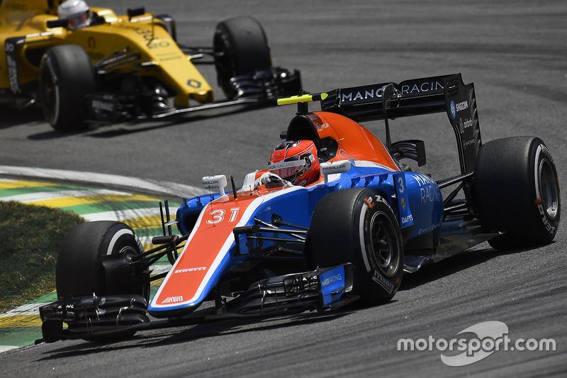 22: Естебан Окон, Manor Racing MRT05 (штраф у три позиції)