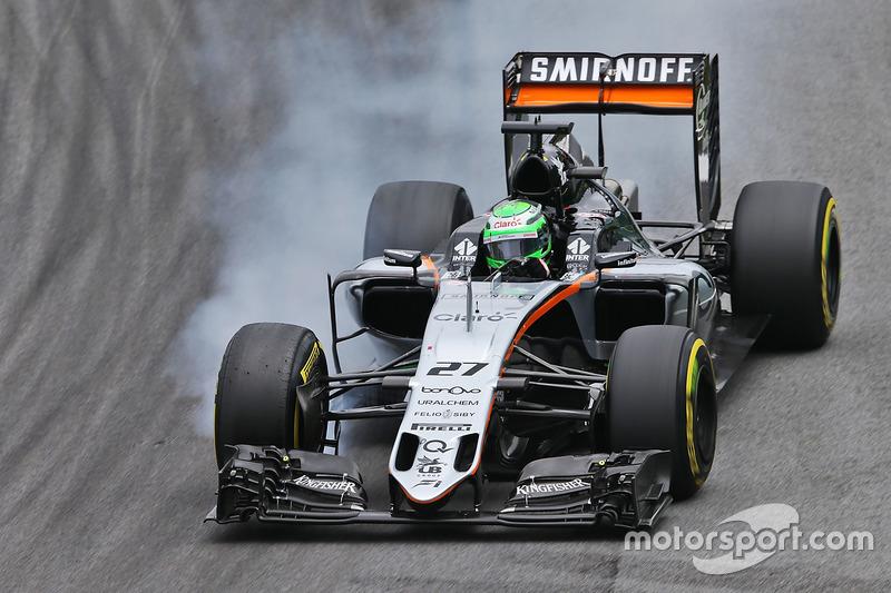 Nico Hülkenberg, Sahara Force India F1, 1.12.104