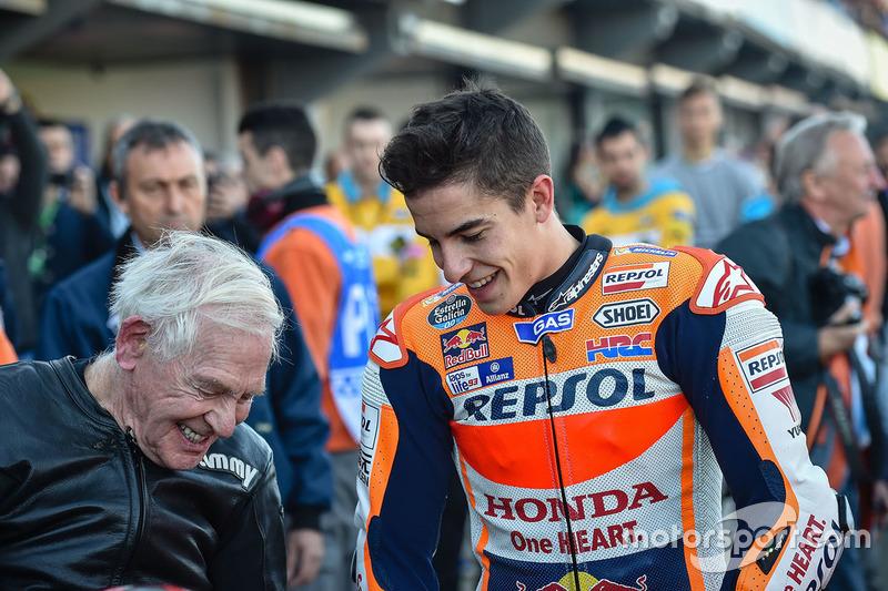 Marc Márquez, Repsol Honda Team con Sammy Miller