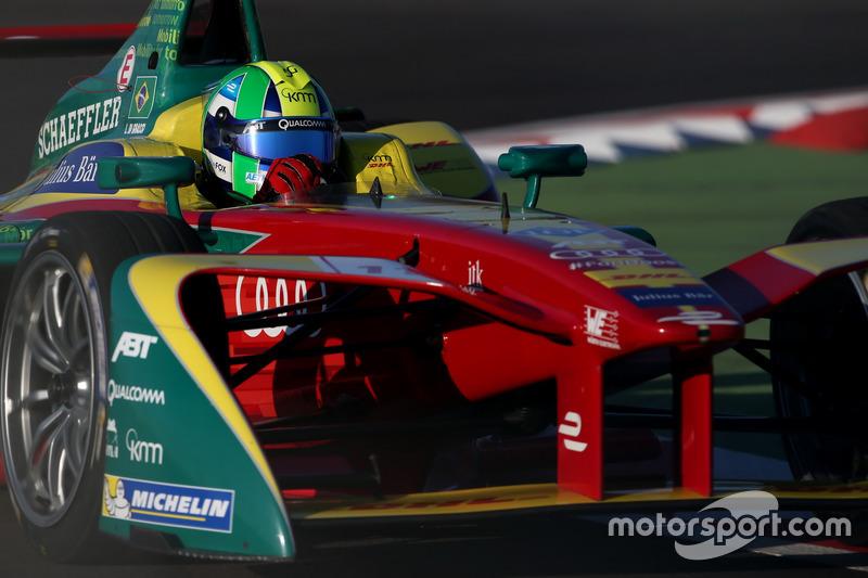 Lucas di Grassi terminou na quarta colocação.