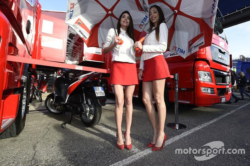 Чарівні дівчата Ducati Team