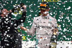 2nd place Nico Rosberg, Mercedes AMG Petronas F1 W07