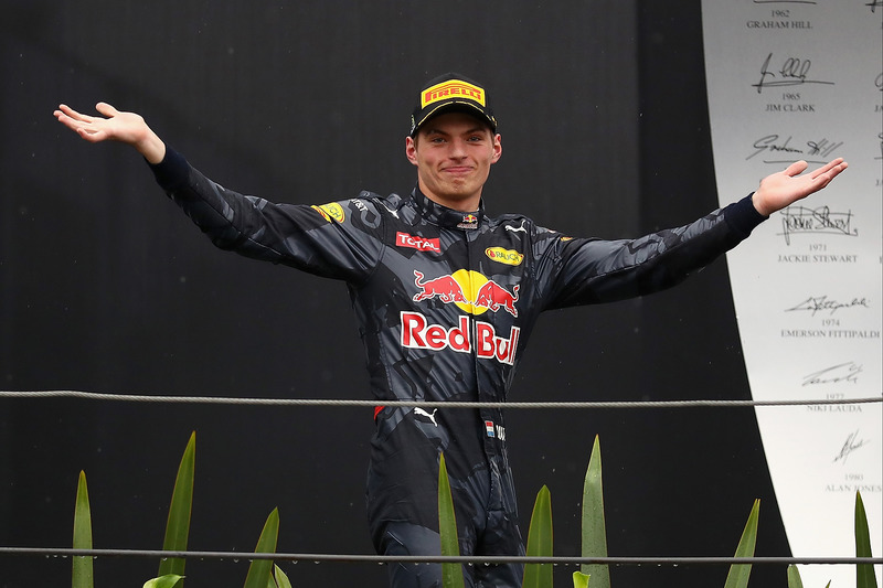 20. GP de Brasil 2016: Max Verstappen (3º)