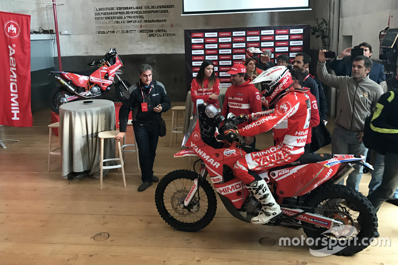 Presentación del Himoinsa Racing Team 2017