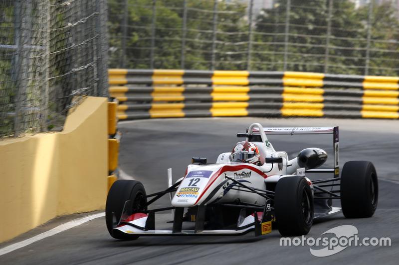 12. Wing Chung Chang, ThreeBond with T-Sport Dallara NBE