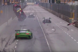 Accident de Laurens Vanthoor, Audi Sport Team WRT Audi R8 LMS