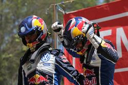 Sieger Andreas Mikkelsen, Anders Jäger, Volkswagen Polo WRC, Volkswagen Motorsport