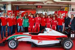 Pruebas Ferrari Driver Academy
