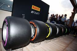 Pirelli-Breitreifen für die Formel-1-Saison 2017