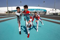 Alexander Albon, ART Grand Prix, Charles Leclerc, ART Grand Prix en Antonio Fuoco, Trident