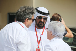 Pasquale Lattuneddu, FOM and Bernie Ecclestone