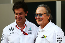 Toto Wolff, Mercedes AMG F1 accionista y Director Ejecutivo de Mansour Ojjeh, accionista de McLaren