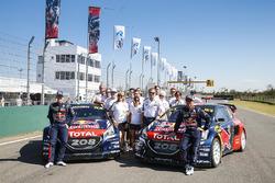Тимми Хансен, Team Peugeot Hansen, и Себастьен Лёб, Team Peugeot Hansen