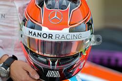 Le casque d'Esteban Ocon, Manor Racing