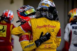 Sub Campeón 2016 GP2 Series  Antonio Giovinazzi, PREMA Racing, Mitch Evans, Pertamina Campos Racing
