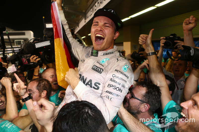 Nico Rosberg, nuevo campeón del mundo de F1