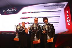 2016 AM Cup equipos, AF Corse, campeón, Rinaldi Racing, segundo lugar, Kessel Racing, tercer ligar