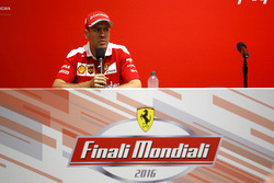 Press Conference: Sebastian Vettel, Ferrari