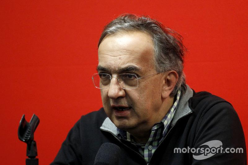 Pressekonferenz: Sergio Marchionne, Ferrari, Präsident