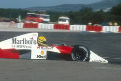 Ayrton Senna, McLaren MP4/5B, Honda