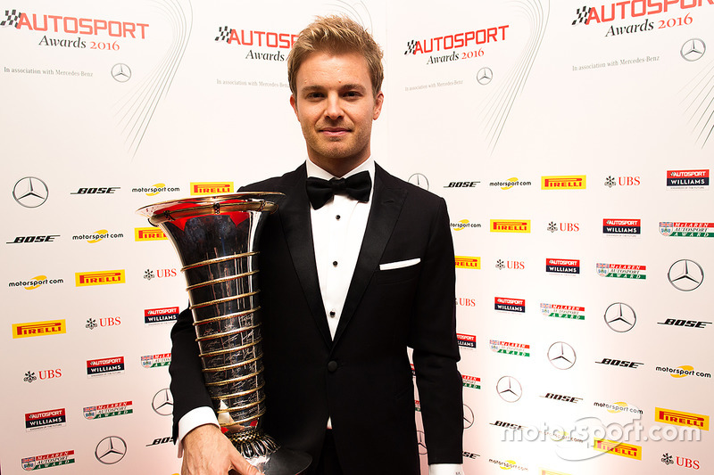 Le Champion du monde Nico Rosberg, Mercedes AMG F1
