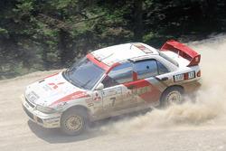 Tommi Mäkinen, Seppo Harjanne, Ralliart Mitsubishi Lancer Evo3