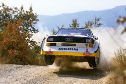 Walter Röhrl, Christian Geistdörfer, Audi Sport Quattro S1