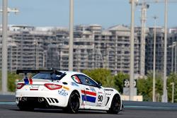 #90 Scuderia Villorba Corse, Maserati MC GT4: Giuseppe Fascicolo, Csaba Mor, Thomas Herpell