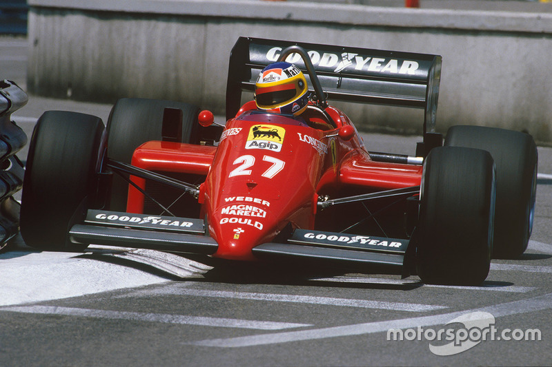 1985: Ferrari 156/85 (две победы, 2-е место в КК)