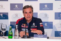 Carlos Sainz Dakar presentatie