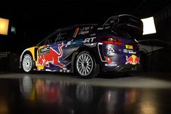 Ford Fiesta WRC 2017 renk düzeni