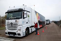 Peugeot Sport team camiones
