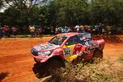 #302 Overdrive Racing Toyota: Giniel de Villiers, Dirk von Zitzewitz