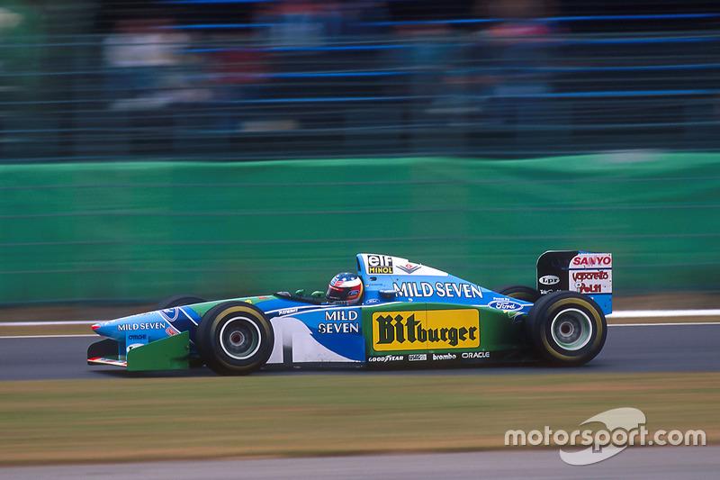 6. Japón 1994, Benetton B194