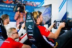 Nick Heidfeld, Mahindra Racing; Felix Rosenqvist, Mahindra Racing