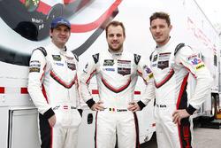 Richard Lietz, Laurens Vanthoor, Kevin Estre, Porsche Team North America Porsche