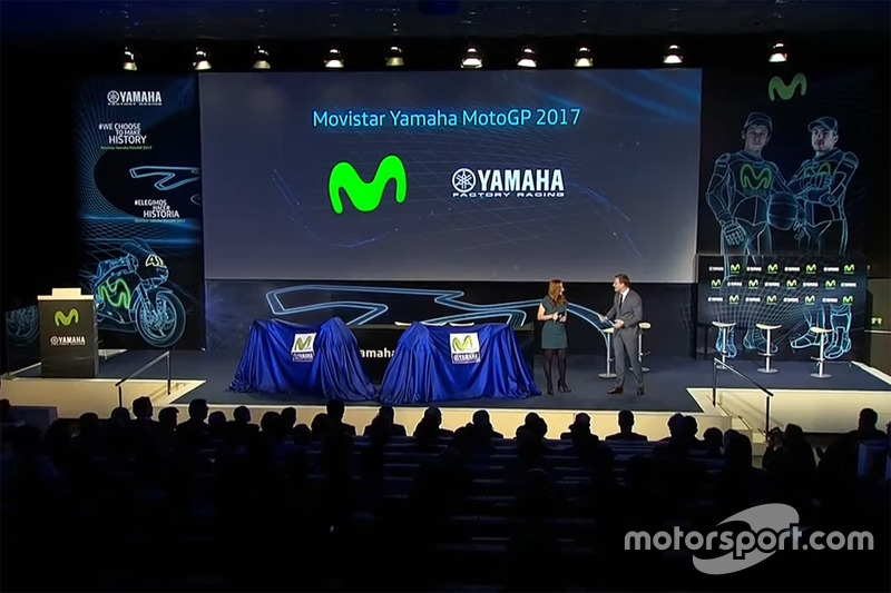 Презентація Yamaha MotoGP