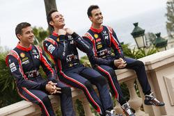 Hayden Paddon, Thierry Neuville, Daniel Sordo, Hyundai Motorsport