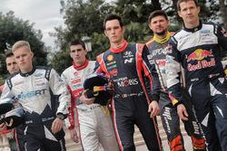 Ott Tänak, M-Sport, Thierry Neuville, Hyundai Motorsport, Sébastien Ogier, M-Sport