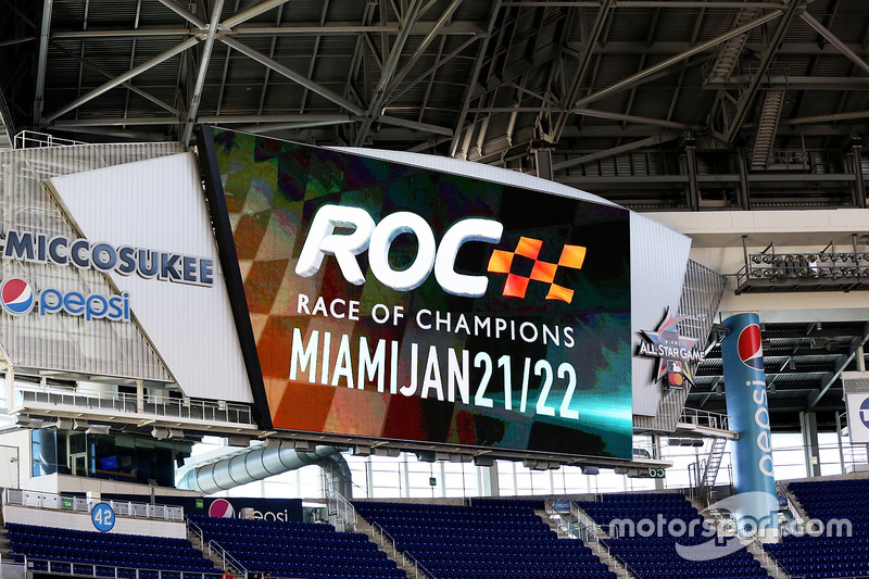 Race of Champions marca en el estadio