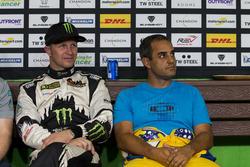 Petter Solberg and Juan Pablo Montoya
