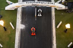 Team Gran Bretaña David Coulthard, Team Nórdico Petter Solberg, KTM X-Bow Comp R
