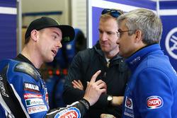 Alex Lowes, Pata Yamaha, Neil Hodgson, Andrea Dosoli
