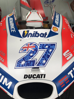 The bike of Casey Stoner, Ducati Team