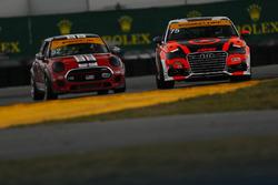 #75 Compass360 Racing, Audi S3: Roy Block, Pierre Kleinubing