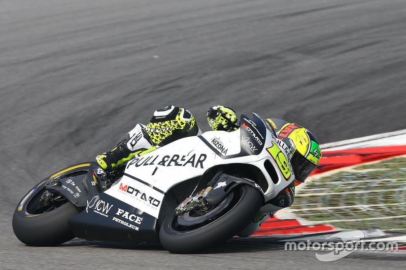 11 місце — Альваро Баутіста (Іспанія, Ducati GP16) — коефіцієнт 101,00