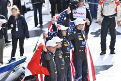 Les vainqueurs #10 Wayne Taylor Racing Cadillac DPi: Ricky Taylor, Jordan Taylor, Max Angelelli, Jeff Gordon